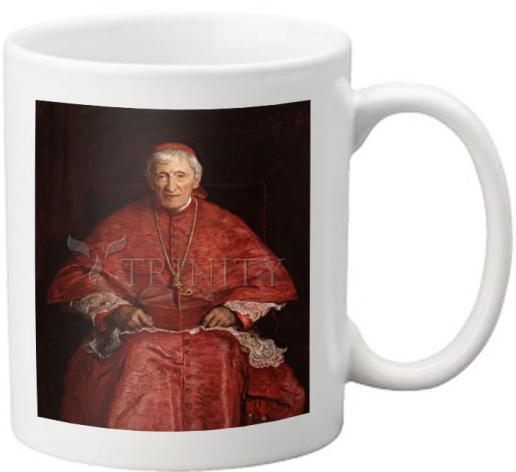 Coffee-Tea Mug - St. John Henry Newman by Museum Art