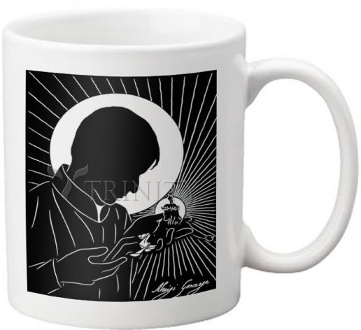 Coffee-Tea Mug - St. Aloysius by D. Paulos