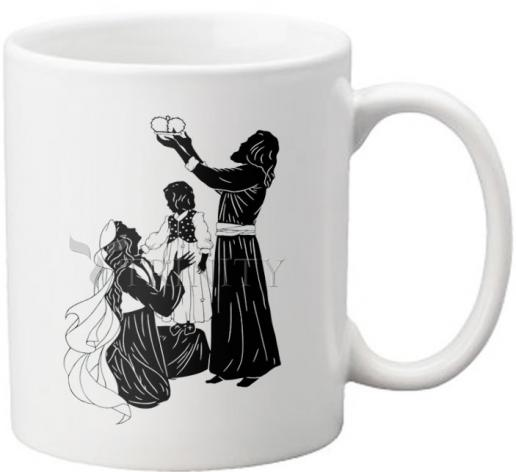 Coffee-Tea Mug - Behold Thy King by D. Paulos