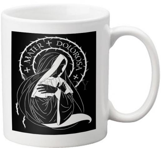Coffee-Tea Mug - Mater Dolorosa - Mother of Sorrows by D. Paulos