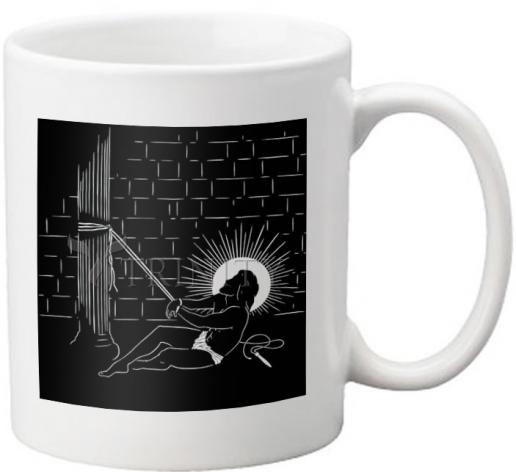Coffee-Tea Mug - Scourging by D. Paulos