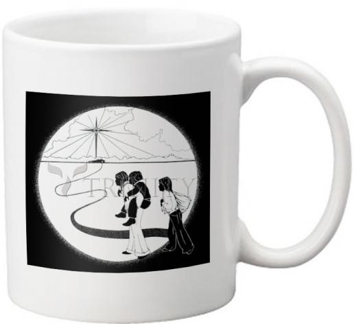 Coffee-Tea Mug - Come to the Stable by D. Paulos