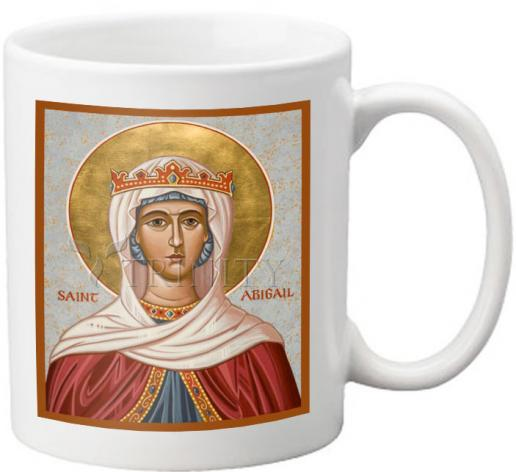 Coffee-Tea Mug - St. Abigail by J. Cole