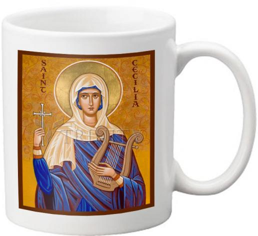 Coffee-Tea Mug - St. Cecilia by J. Cole
