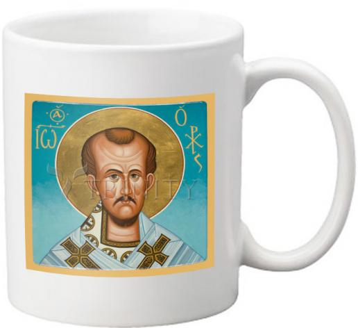 Coffee-Tea Mug - St. John Crysostom by J. Cole