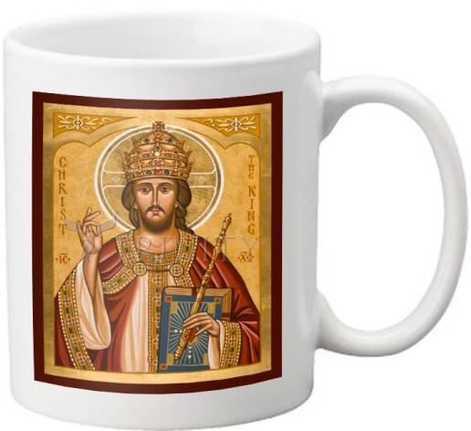Coffee-Tea Mug - Christ the King by J. Cole