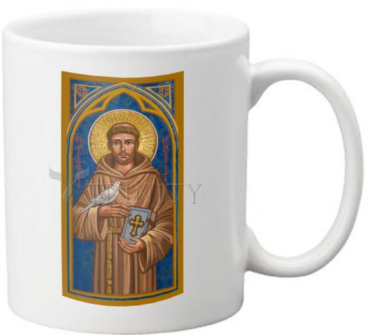Coffee-Tea Mug - St. Francis of Assisi by J. Cole