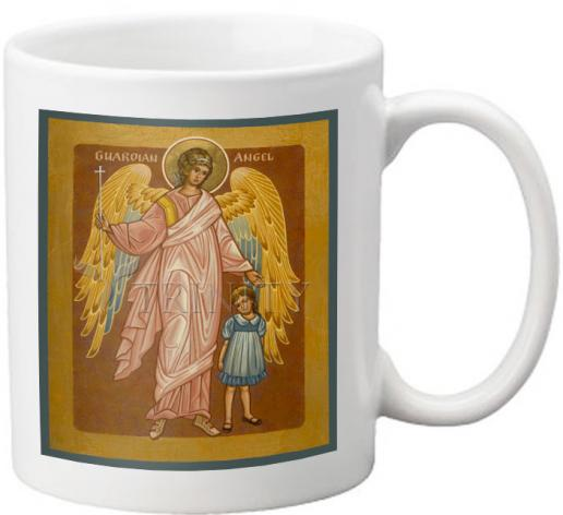 Coffee-Tea Mug - Guardian Angel with Girl by J. Cole