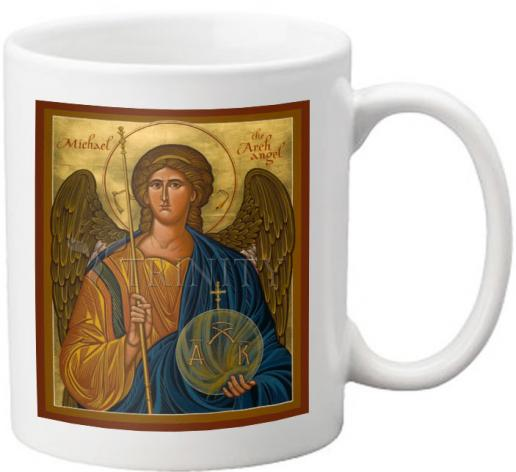 Coffee-Tea Mug - St. Michael Archangel by J. Cole
