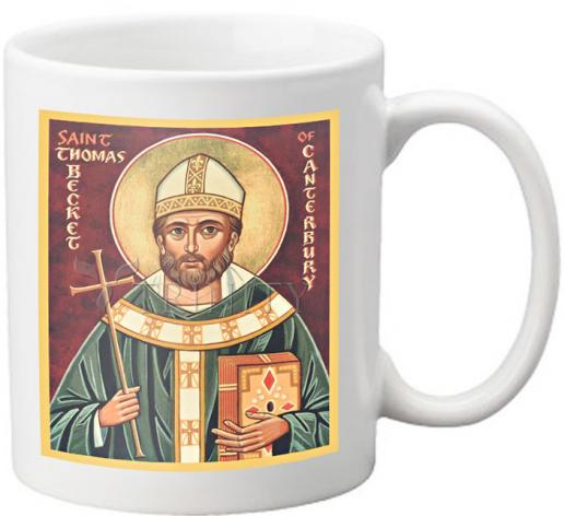 Coffee-Tea Mug - St. Thomas Becket by J. Cole