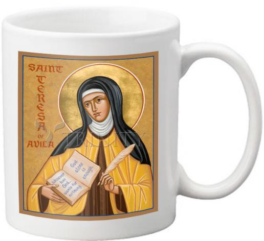 Coffee-Tea Mug - St. Teresa of Avila by J. Cole