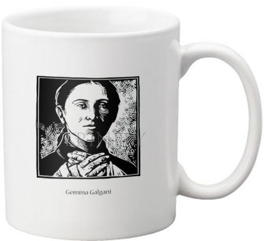 Coffee-Tea Mug - St. Gemma Galgani by J. Lonneman