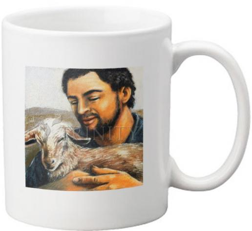 Coffee-Tea Mug - St. Isidore the Farmer by J. Lonneman