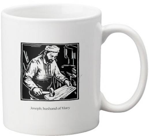 Coffee-Tea Mug - St. Joseph, husband of Mary by J. Lonneman