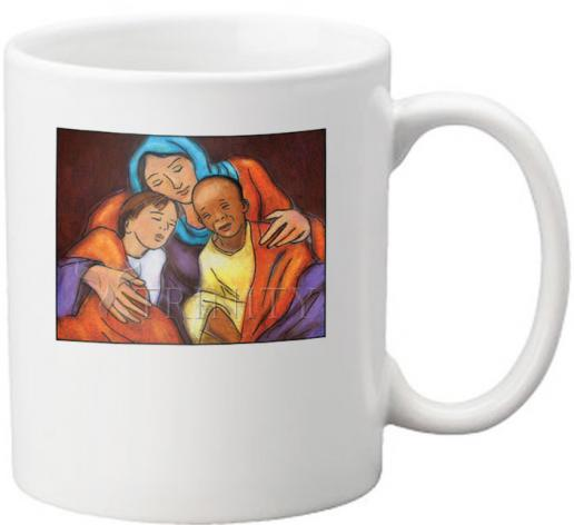 Coffee-Tea Mug - Mother of Mercy by J. Lonneman