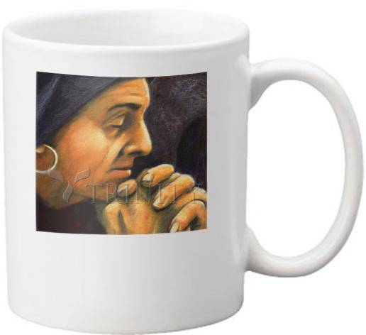 Coffee-Tea Mug - St. Monica by J. Lonneman