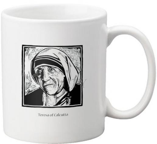 Coffee-Tea Mug - St. Teresa of Calcutta by J. Lonneman