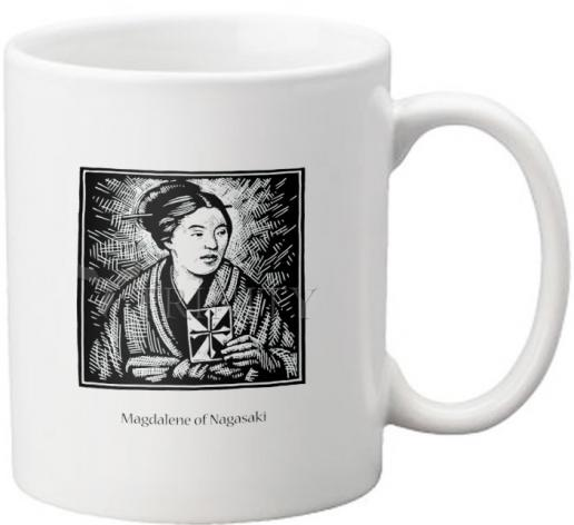 Coffee-Tea Mug - St. Magdalene of Nagasaki by J. Lonneman