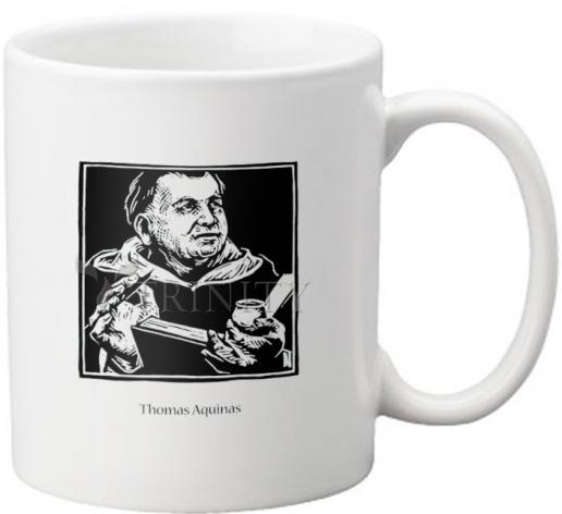 Coffee-Tea Mug - St. Thomas Aquinas by J. Lonneman