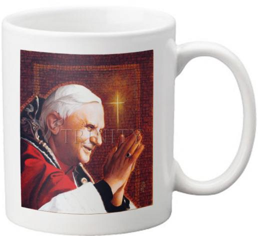 Coffee-Tea Mug - Pope Benedict XVI by L. Glanzman