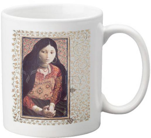 Coffee-Tea Mug - The Daughter of Jairus by L. Glanzman