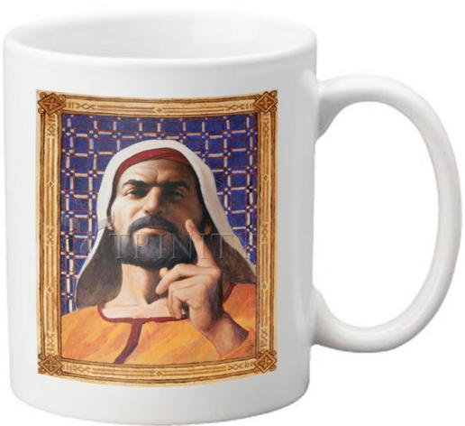 Coffee-Tea Mug - Isaiah by L. Glanzman