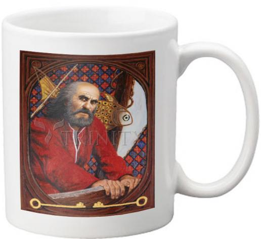 Coffee-Tea Mug - St. Peter  by L. Glanzman