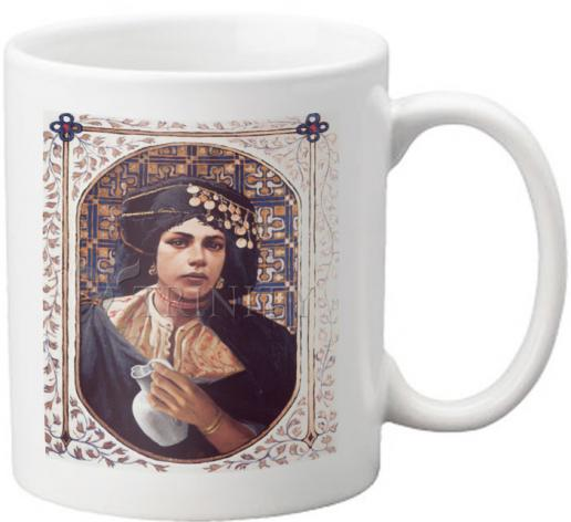Coffee-Tea Mug - Penitent Woman by L. Glanzman