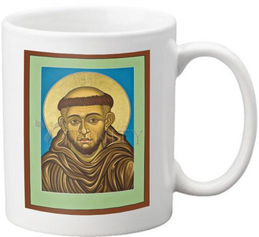 Coffee-Tea Mug - St. Francis of Assisi by L. Williams