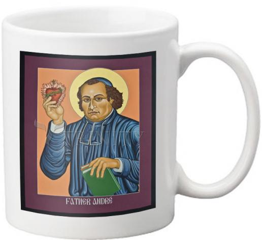 Coffee-Tea Mug - Fr. Andre' Coindre by L. Williams