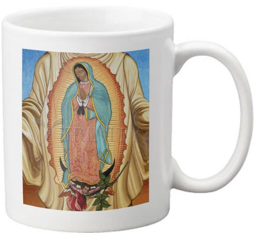 Coffee-Tea Mug - Our Lady of Guadalupe by L. Williams