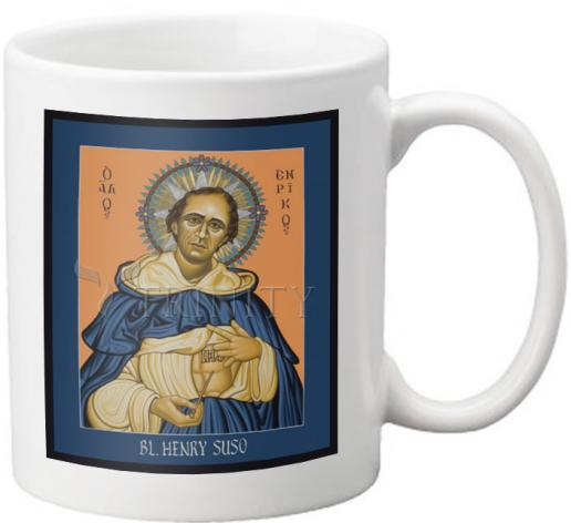 Coffee-Tea Mug - Bl. Henry Suso by L. Williams