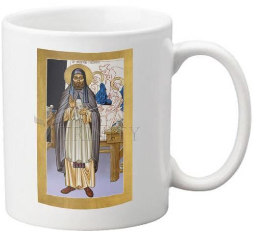 Coffee-Tea Mug - St. Andrei Rublev by L. Williams