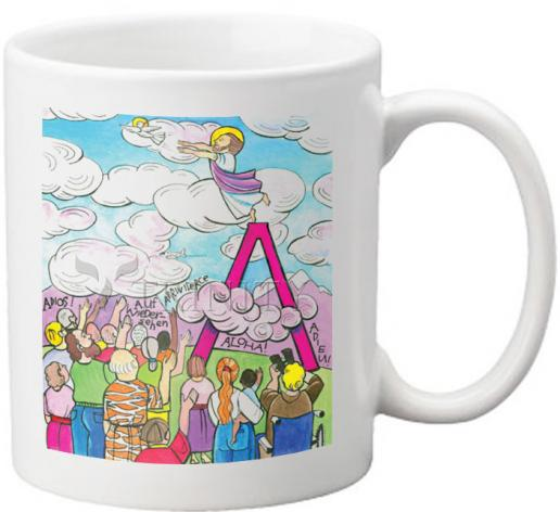 Coffee-Tea Mug - All Apostles At Ascension by M. McGrath