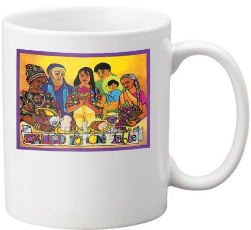 Coffee-Tea Mug - Called to One Table by M. McGrath