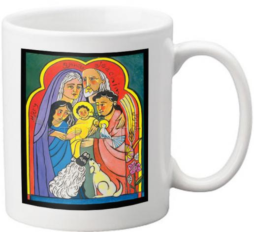 Coffee-Tea Mug - Extended Holy Family by M. McGrath