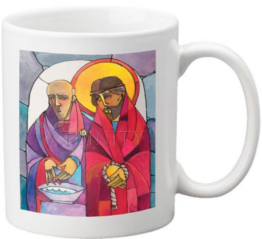 Coffee-Tea Mug - Stations of the Cross - 01 Jesus is Condemned to Death by M. McGrath