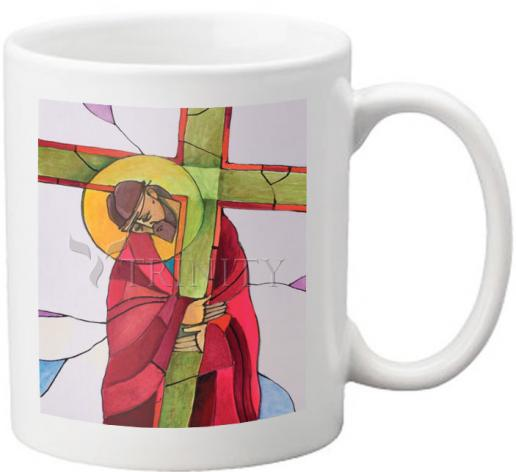 Coffee-Tea Mug - Stations of the Cross - 02 Jesus Accepts the Cross by M. McGrath