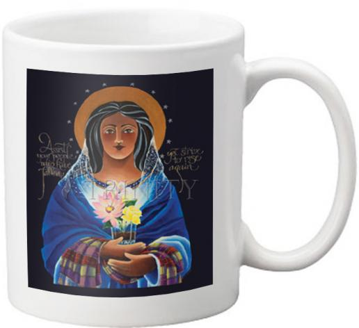 Coffee-Tea Mug - Our Lady of Light: Help of the Addicted by M. McGrath