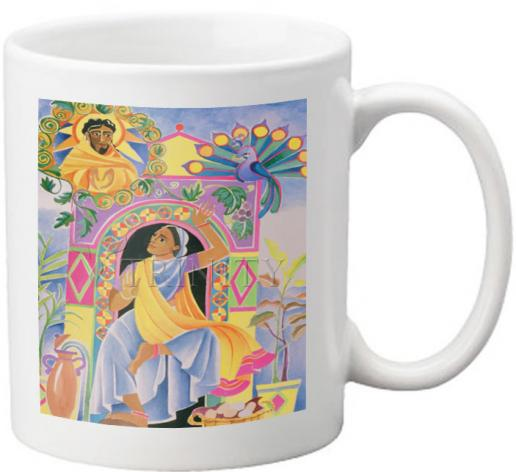 Coffee-Tea Mug - St. Mary Magdalene at the Tomb by M. McGrath