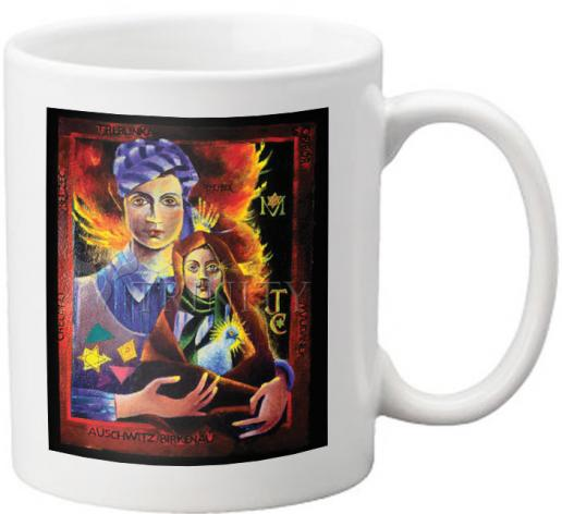 Coffee-Tea Mug - Madonna of the Holocaust by M. McGrath