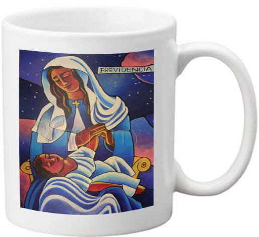 Coffee-Tea Mug - Our Lady of the Divine Providence by M. McGrath