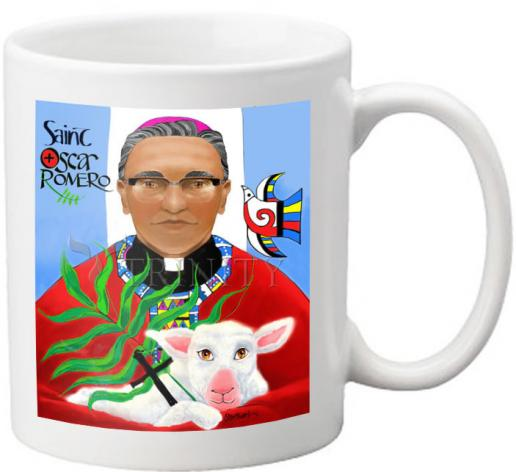 Coffee-Tea Mug - Oscar Romero by M. McGrath