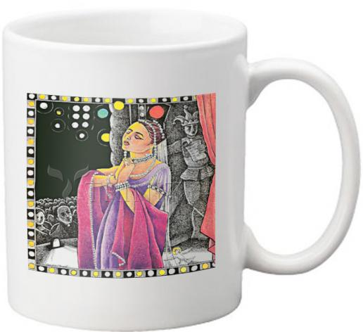 Coffee-Tea Mug - St. Pelagia by M. McGrath