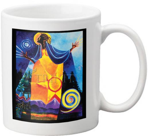Coffee-Tea Mug - Queen of Heaven, Mother of Earth by M. McGrath