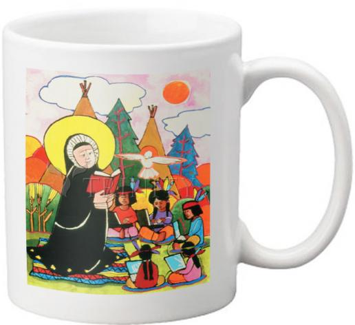 Coffee-Tea Mug - St. Rose Duchesne by M. McGrath