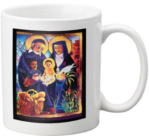 Coffee-Tea Mug - Sts. Vincent and Louise by M. McGrath