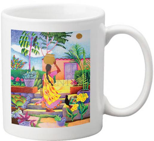 Coffee-Tea Mug - Woman at the Well by M. McGrath