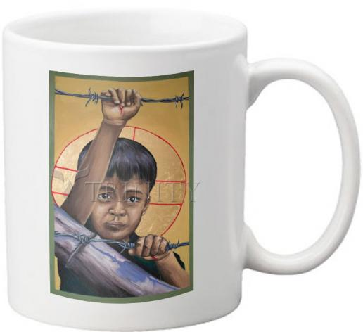 Coffee-Tea Mug - Christ the Dreamer by M. Reyes