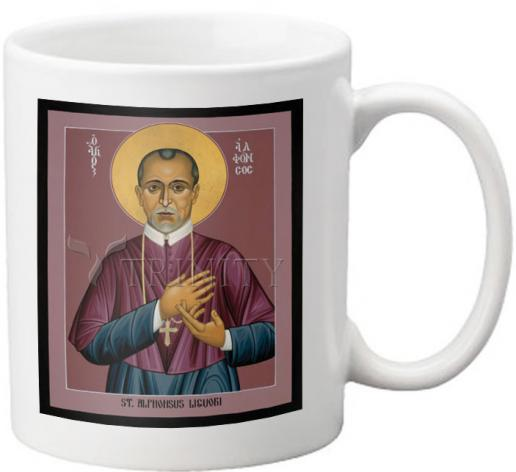 Coffee-Tea Mug - St. Alphonsus Liguori by R. Lentz